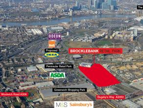 Brocklebank Retail Park - Greenwich, SE7 7SE