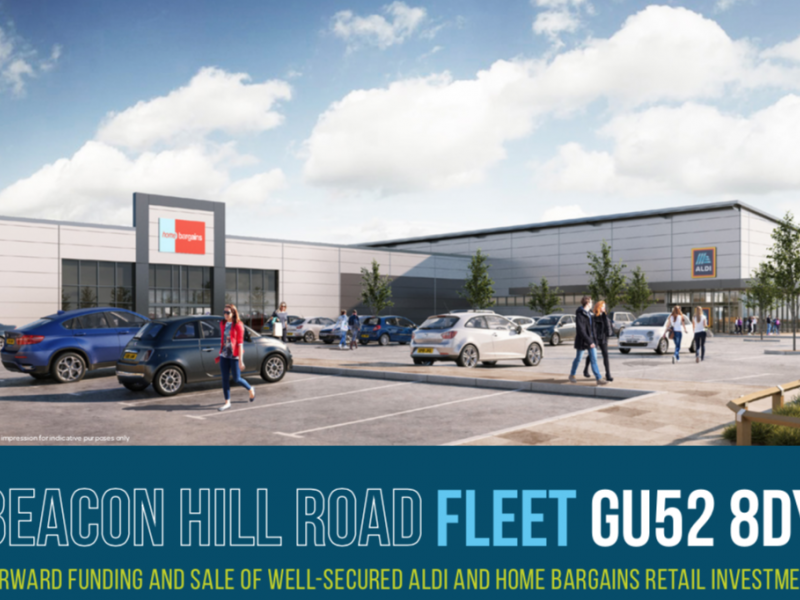 Aldi & Home Bargains Funding Opportunity - Fleet, Hampshire